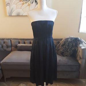 NBwW Calvin Klein satin strapless dress
